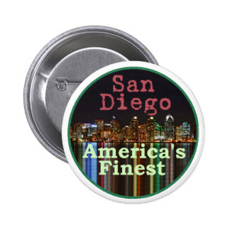 San Diego Button