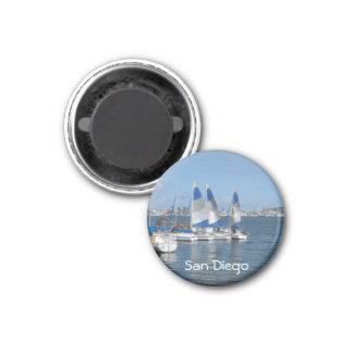 San Diego, CA 3 Cm Round Magnet