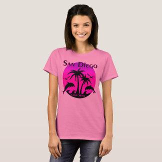 San Diego, CA Hot Pink T-Shirt