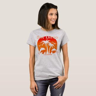 San Diego, CA Orange T-Shirt