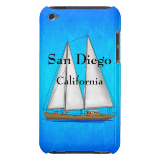 San Diego California Barely There iPod Covers