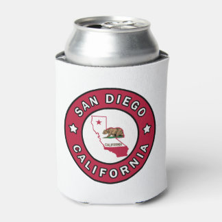 San Diego California Can Cooler