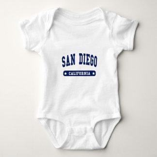 San Diego California College Style tee shirts