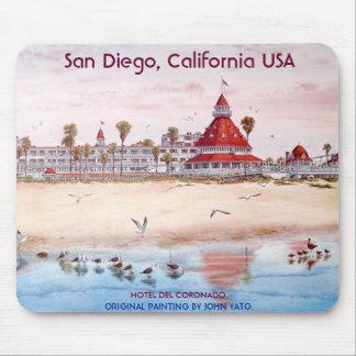 San Diego, California, HOTEL DEL CORONADO Mouse Mat