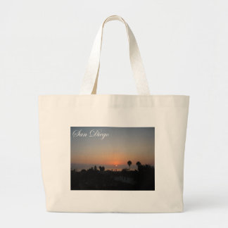 San Diego, California Large Tote Bag