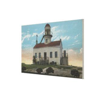 San Diego, California - Old Spanish Lighthouse Canvas Print