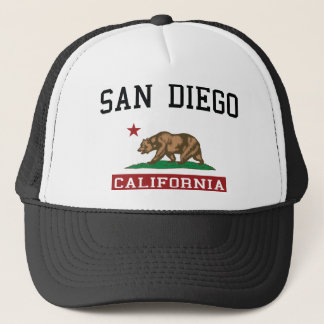 San Diego California Trucker Hat