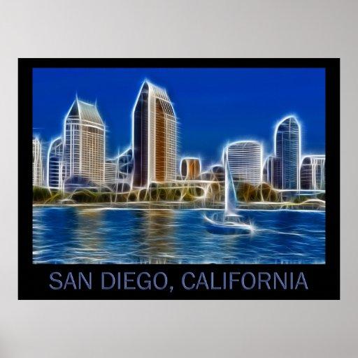 San Diego, California (USA) Poster