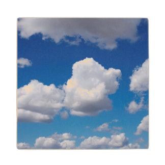 San Diego, Clouds Wood Coaster