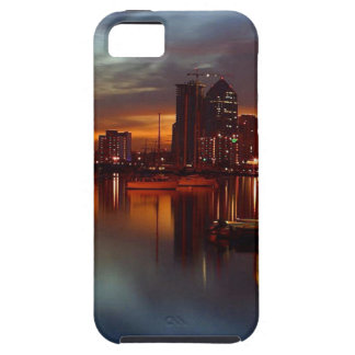 San Diego Docks Night Tough iPhone 5 Case