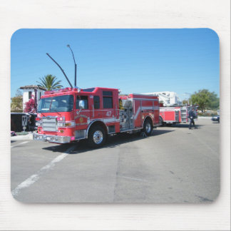 San Diego Fire Engine Mouse Pad