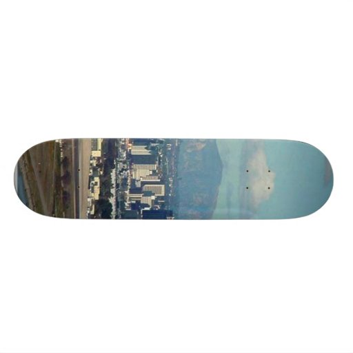San Diego From The Cabrillo Monument Skate Deck