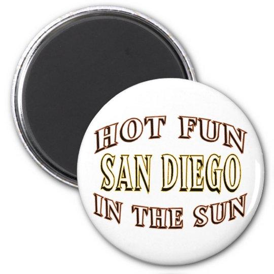 San Diego Fun Magnet