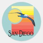 San Diego Gull Stickers