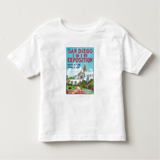 San Diego International Exposition Poster Toddler T-Shirt