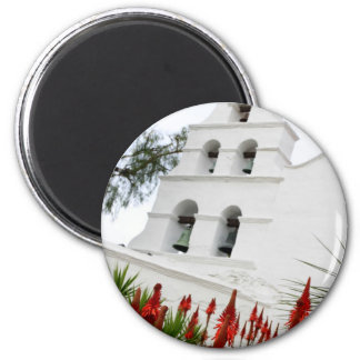 San Diego Mission Fridge Magnet