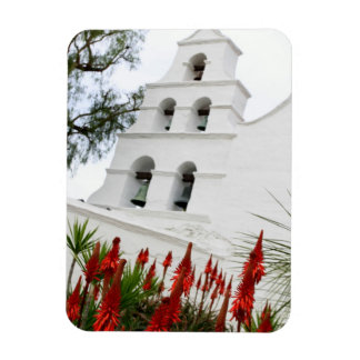 San Diego Mission Rectangle Magnet
