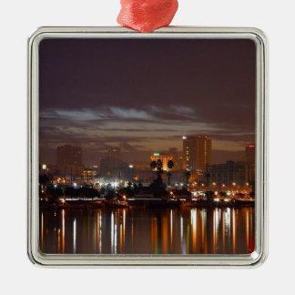 San Diego Night Lights Christmas Ornament