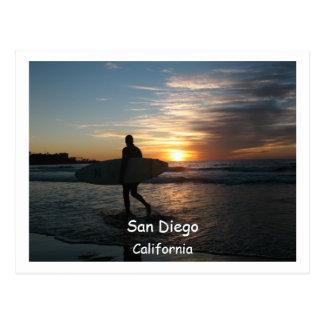 San Diego, Postcard