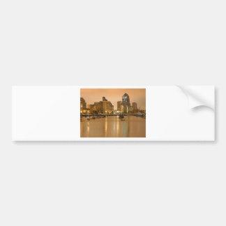 San Diego Sailboats Morning Sunrise Cityscape Bumper Stickers