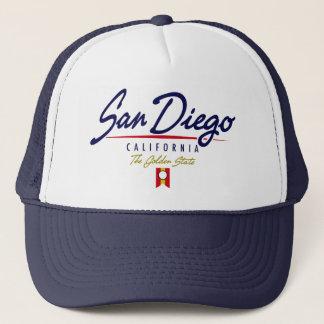 San Diego Script Trucker Hat