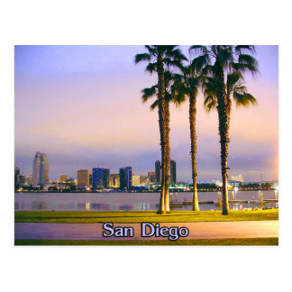 San Diego Shoreline Postcard