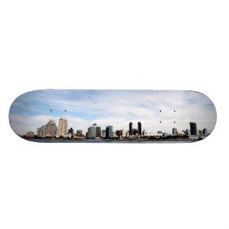 San Diego Skyline 19.7 Cm Skateboard Deck