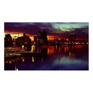 San Diego Skyline Business Cards