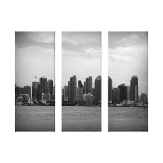 San Diego Skyline Canvas Print