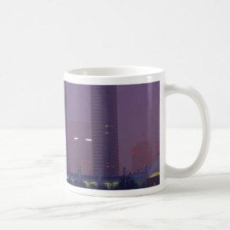 San Diego Skyline City Cities Fog Morning Basic White Mug
