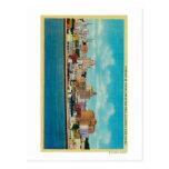 San Diego Skyline from the BaySan Diego, CA Postcard