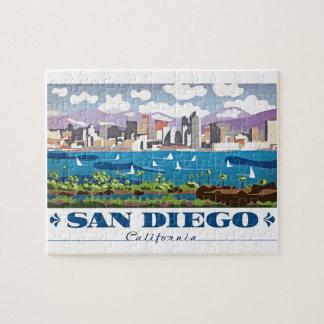 San Diego Skyline Jigsaw Puzzle