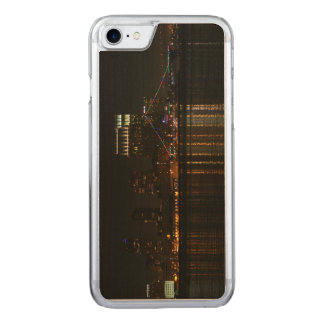 San Diego Skyline Night Carved iPhone 8/7 Case