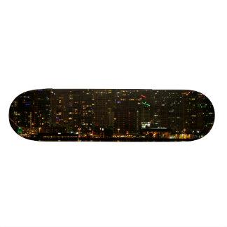 San Diego Skyline Night Skate Boards