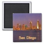 San Diego Skyline Refrigerator Magnets