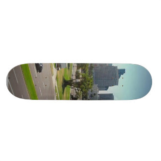 San Diego Skyline Seen From The Maritime Museum Skate Deck