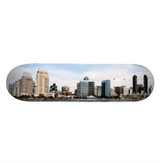San Diego Skyline Skate Deck