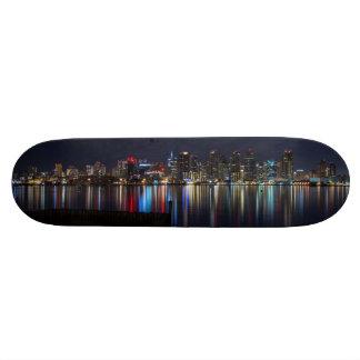 San Diego Skyline 21.6 Cm Skateboard Deck