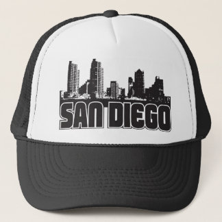 San Diego Skyline Trucker Hat