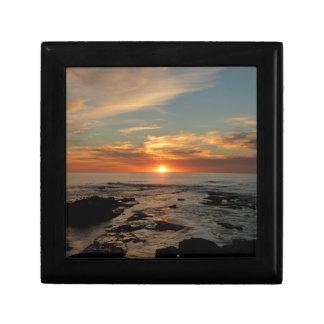 San Diego Sunset II California Seascape Gift Box