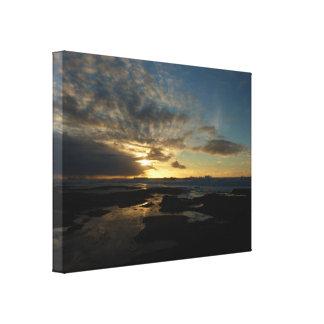 San Diego Sunset III Stunning California Landscape Canvas Print