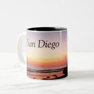 San Diego Surfers Two-Tone Coffee Mug