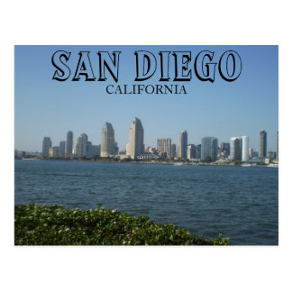San Diego - View of Downtown from Coronado Island Postcard