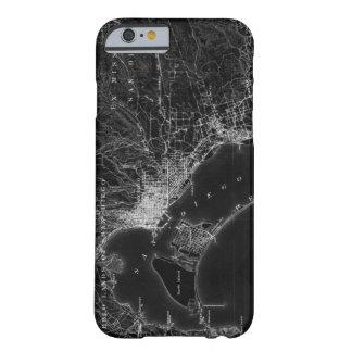 San Diego Vintage Map Barely There iPhone 6 Case