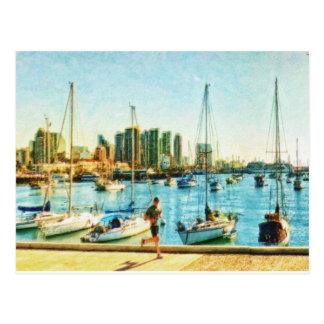 San Diego Waterfront by Shawna Mac Postcard