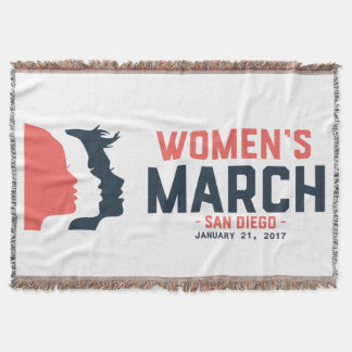 San Diego Women's March Throw