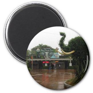 San Diego Zoo 6 Cm Round Magnet