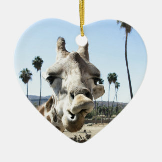 San Diego zoo Ceramic Heart Decoration