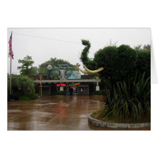 San Diego Zoo Greeting Card