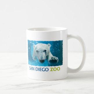 San Diego Zoo Polar Bear Basic White Mug